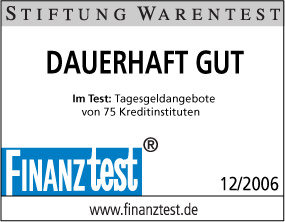 Credit Europe Bank Finanztest - Dauerhaft Gut