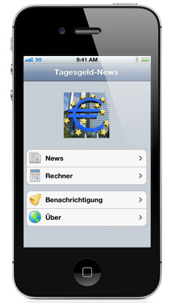 kostenlose Tagesgeld News App fr iPhone und iPad