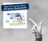 1822direkt Tagesgeld mit 25 EUR Startgeldprämie