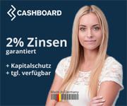 CASHBOARD Depot mit 2,00% Garantiezins auf die Einlage