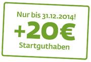 Sberbank Direct Festgeld mit 20€ Startguthaben bis 31.12.2014