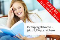Varengold Bank Tagesgeld mit 1,40% Zinsen p.a. für Neukunden
