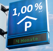 Volkswagen Bank Tagesgeld mit bis zu 1,00% Zinsen p.a. für Neukunden + 4 Monate Zinsgarantie