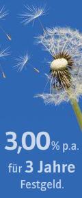 Credit Europe Bank 3 Prozent Zinsen beim Festgeld zu Ostern