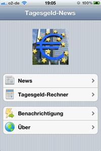 Tagesgeld-News App 2.0
