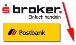 S-Broker und Postbank senken Zinsen