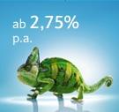 Barclays Tagesgeld mit 2,75%