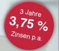 DenizBank Festgeld - 3 Jahre mit 3,75%