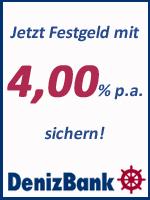 DenizBank Festgeld