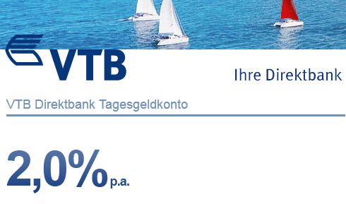 VTB Tagesgeld August 2012