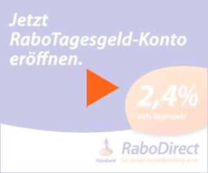 RaboDirekt startet wieder...