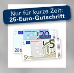 25 Euro Startguthaben beim 1822direkt Tagesgeldkonto