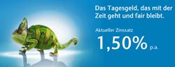 Barclays LeitzinsPlus Tagesgeldkonto mit 1,50% Zinsen jährlich und Zinsgarantie