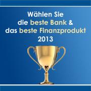 BankingCheck Award 2013
