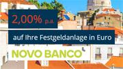 Novo Banco Festgeld mit 2,00% Zinsen bei 12-monatiger Laufzeit