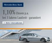 Mercedes-Benz Bank Festzinskonto mit bis zu 1,50% Zinsen jährlich