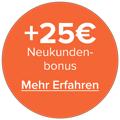 25€-Prämie für Savedo-Neukunden
