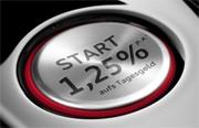 Audi Bank Neukunden-Tagesgeld mit 1,25% Zinsen p.a. + Zinsgarantie