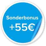Savedo 55€ Sonderbonus für Neukunden
