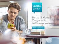 Consorsbank Tagesgeld